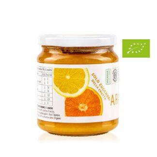 Bio-Orangen-Zitronen-Kompott-320g nur mit Fruchtzucker
