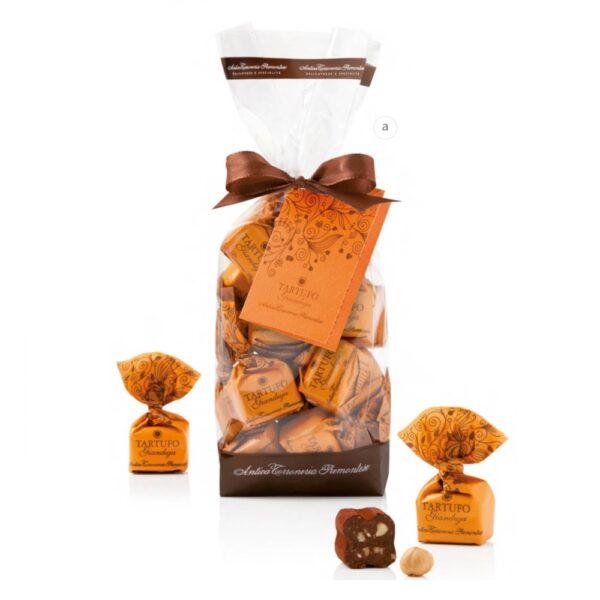 Schokoladentrueffel-Gianduia-Beutel-200g-Antica-Torroneria